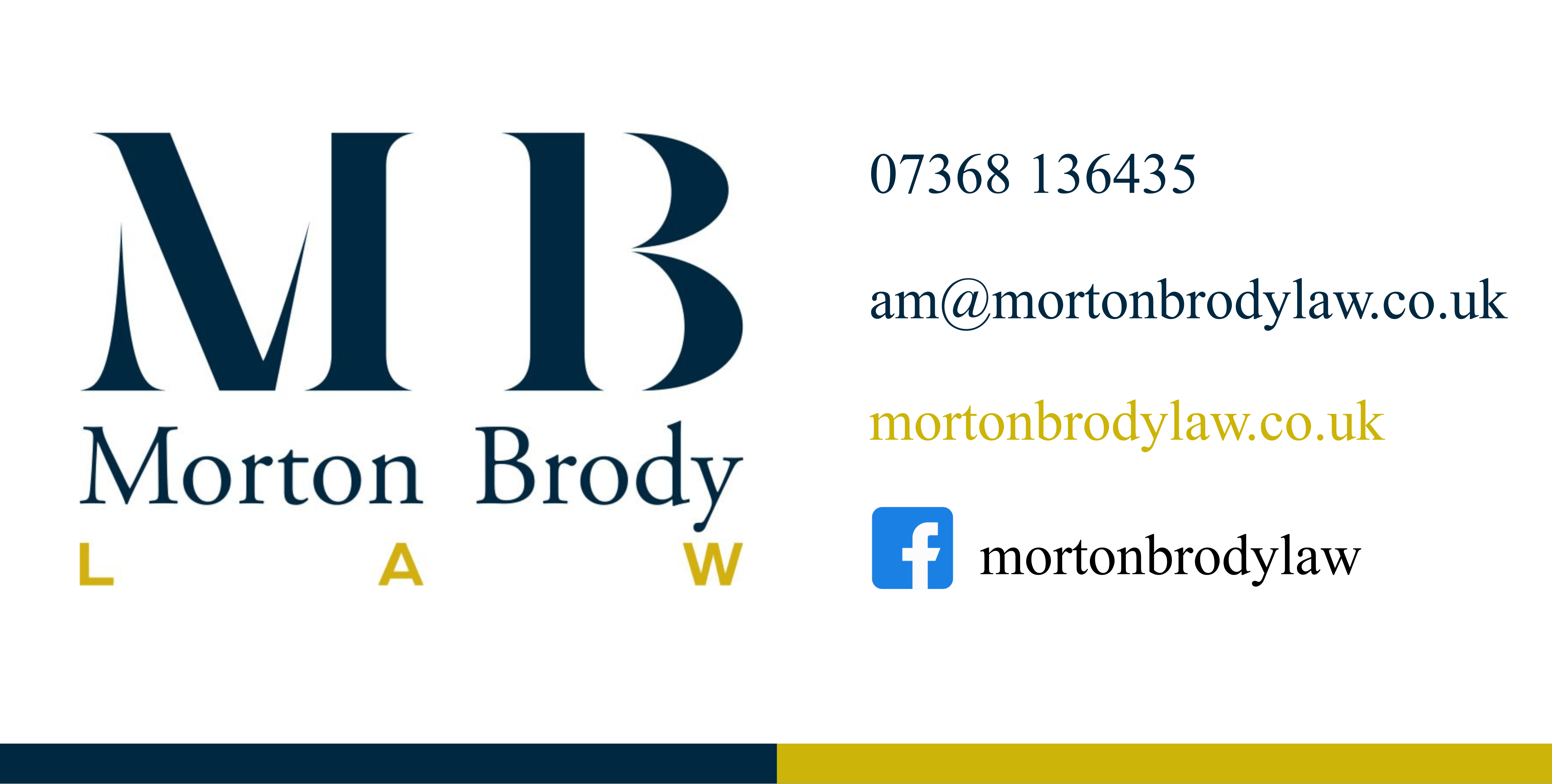 Morton Brody Law Board